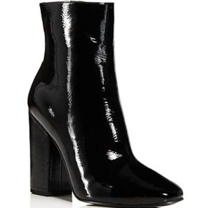 Kendall & Kylie Patent Leather Boots - NEW